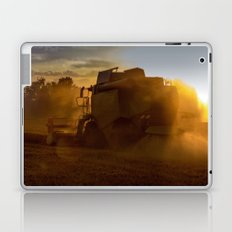 Combine harvesters in use Laptop & iPad Skin