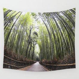 Arashiyama Bamboo Forest Wall Tapestry