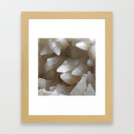 Crystal Cave Framed Art Print