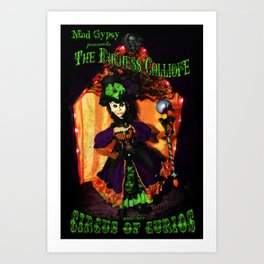 The Duchess Calliope's Circus of Curios  Art Print