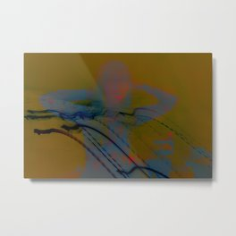 Auditory Hallucination: Things Can't Keep You Company When You're Alone Metal Print