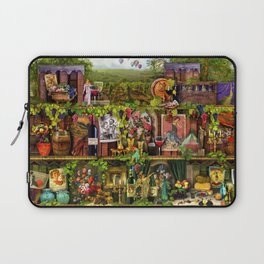 The Poetry of Wine Laptop Sleeve
