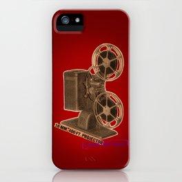 vintage projector iPhone Case