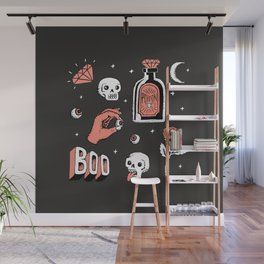 Skeleton Spooky Boye Wall Mural