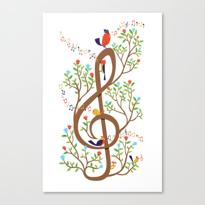 Song birds Canvas Print