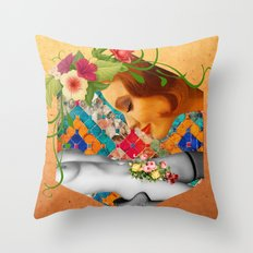 The Sweet Smell Of Throw Pillow