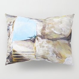 Empty Burial Tomb Pillow Sham