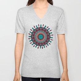Heart and Soul Mandala Unisex V-Neck
