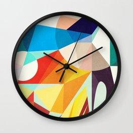 Around The Circle Wall Clock
