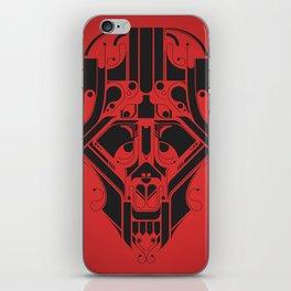 SkullHead 02 iPhone Skin