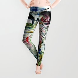 Arco Felice With Dragons Leggings