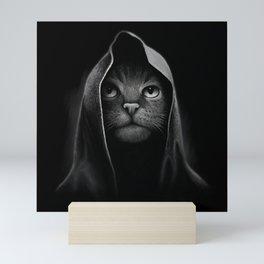 Cat portrait Mini Art Print