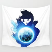 metroid Wall Tapestries featuring Metroid Prime 3: Corruption by Ian Wilding