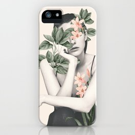natural beauty-collage 3 iPhone Case