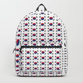 flag of south korea-korea,asia, 서울특별시,부산광역시, 한국,seoul Backpack