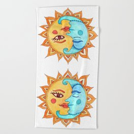 The Bright Side Beach Towel