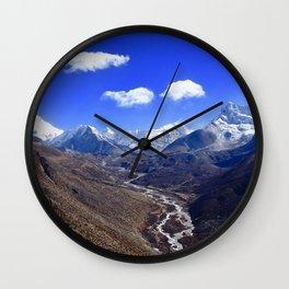 Himalayan Valley Wall Clock