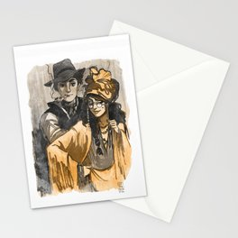 Poet and Muse Stationery Cards