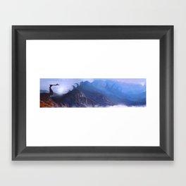 Unknown Destination Framed Art Print