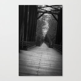 Cross to Relieve Tension Canvas Print