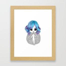 Wanna cuddle? <3 Framed Art Print