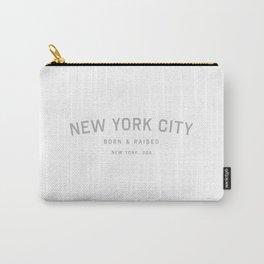 New York City - NY, USA (White Arc) Carry-All Pouch