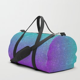 Tropical Twilight Glitter Gradient Duffle Bag