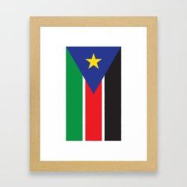 South Sudan Framed Art Print