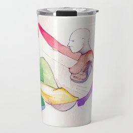 SoHo Land, NYC scene, NYC artist Travel Mug