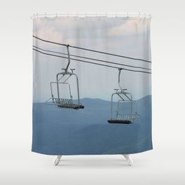 Lonely Together Apart Shower Curtain