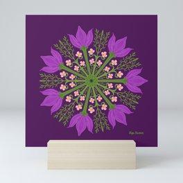Tulips and Sakuras Mini Art Print