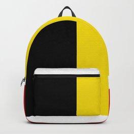 Belgian flag Backpack