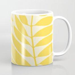 Golden Yellow Leaves Coffee Mug