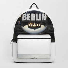 Brandenburg Gate sunset, Berlin Backpack
