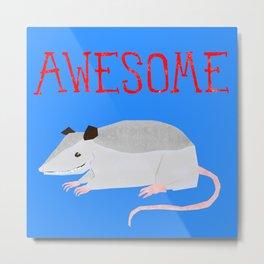 Awesome Possum Metal Print