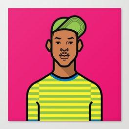 Prince of Bel Air Canvas Print