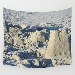 Sandcastles Wall Tapestry