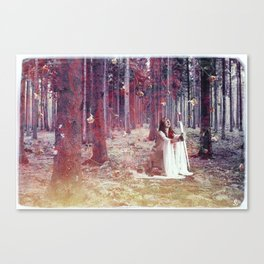 White Witch Canvas Print