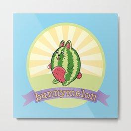 bunnymelon Metal Print