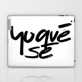 """""""Yoquésé"""" [Copyright] Mar Cantón, 2017 Laptop & iPad Skin"""