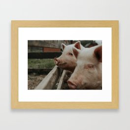 Bif & Moby Framed Art Print