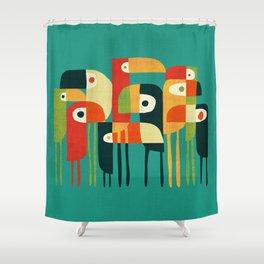 Toucan Shower Curtain