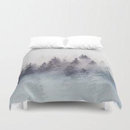 Winter Wonderland - Stormy weather Duvet Cover