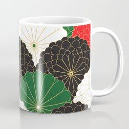 Japanese Chrysanthemum Coffee Mug