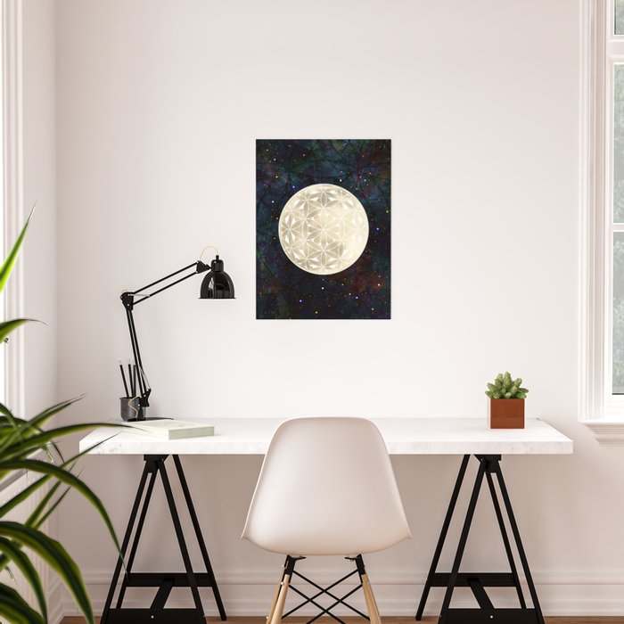 The Flower of Life Moon 2 Poster