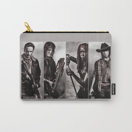 The Walking Dead - Rick Daryl Michonne Carl  Carry-All Pouch