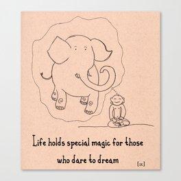Elephant Magic  Canvas Print