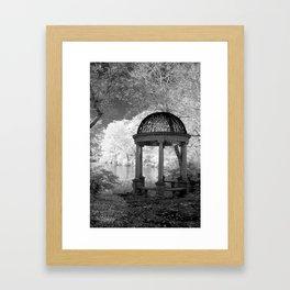 The Gazebo Framed Art Print