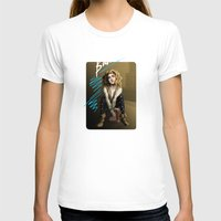 bad wolf T-shirts featuring Bad Wolf by mikaelak