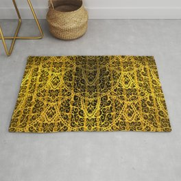 Victorian Gold Rug